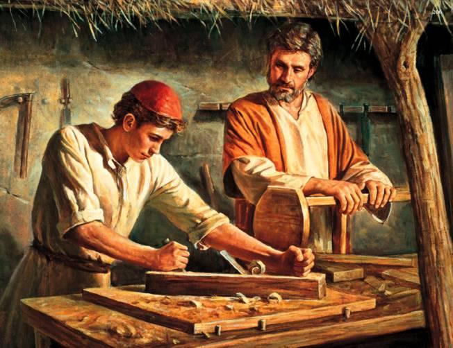 Jezus de zoon vn de timmerman